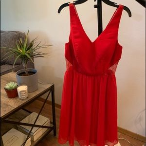 🌸Adrianna Papell red dress